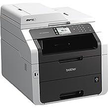 Brother MFC-9340CDW - Impresora multifunción láser color (LED, WiFi, fax, doble cara automática en todas las funciones)