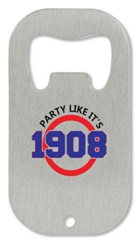 X10 Party Like It\'s 1908 Funny Apri Bottiglia