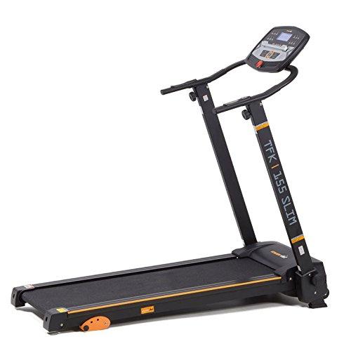 Everfit TFK 155 Slim 400 x 1220mm 14km/h treadmill - Treadmills (100 kg, 14 km/h, Recovery pulse rate, LCD, 400 x 1220 mm, 1475 mm)