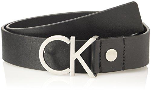Calvin Klein  K60K602141, Ceinture Damen, Schwarz (Black), FR: 90 cm (Taille Fabricant: 90)