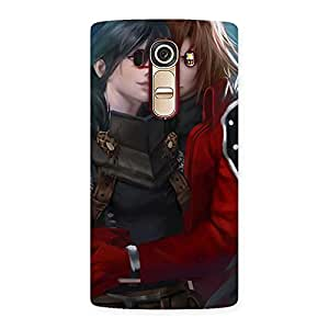 Neo World Two Lovers Back Case Cover for Lg G4