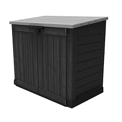 Keter 6028 Store It Out Max, Universalbox für Mülltonnen und sonstiges, anthrazit / grau von Keter - Du und dein Garten