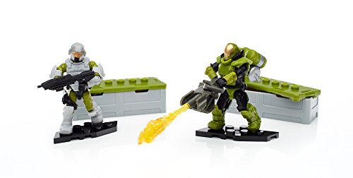 Mattel Mega Bloks Construx - FDY41 Halo Customer Marines Specialist Weapons Pack (Spartan Halo Outfit)