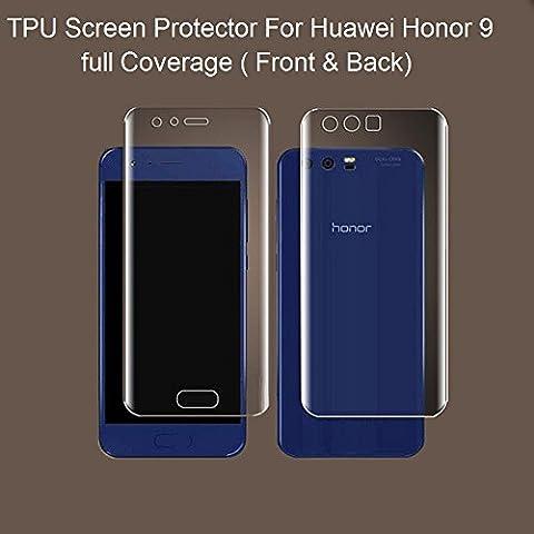 Youji® Für Huawei Honor 9 Vollständige Coverage Displayschutzfolie Anti-Bubble, HD