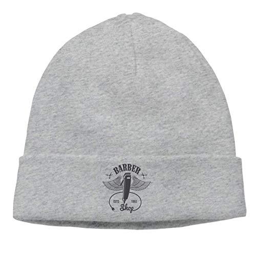 gfhfdjhf Erwachsener Schädel-Kappen-Beanie-Herrenfriseur-Kunst-Bild-Strickmütze Headwear-Winter-warme Hip-Hop-Hutmode 7204