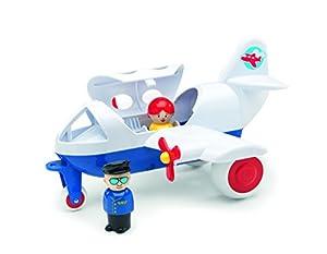 VIKING Toys 1274-Avión Jumbo, con 2Figuras