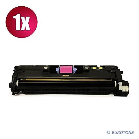 1x Eurotone Remanufactured Toner Cartouche pour HP Color LaserJet 2550 2820 2840 LN AIO L N remplace Q3963A 122A