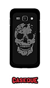 Caseque More Like Skull Back Shell Case Cover for Samsung Galaxy Ace 3