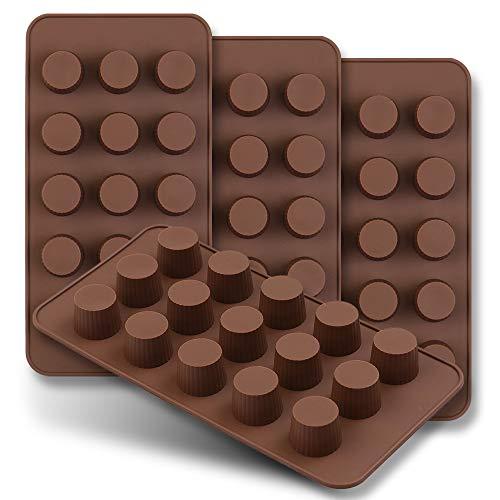 HomEdge Molde de chocolate de 15 cavidades