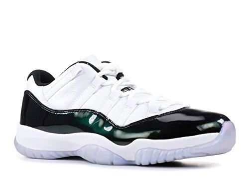 49fa75096a7a59 Air Jordan 11 Retro Low  Emerald  - 528895-145 - Hugeness - 11.5