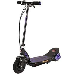 Patinete eléctrico para niños High Roller Razor Kid 's Powercore E100, color morado