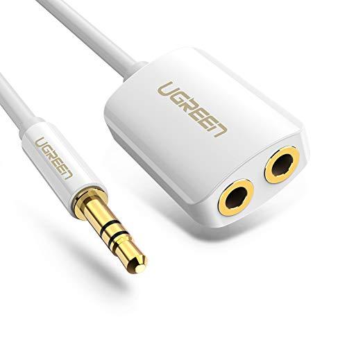 UGREEN Cable Divisor Jack 3.5mm
