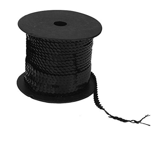 100yards-paillettes-nastro-finiture-metallizzato-stringa-colori-nero