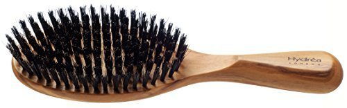 Hydrea London Olive Wood Hair Brush With Pure Bore Bristle WOR1