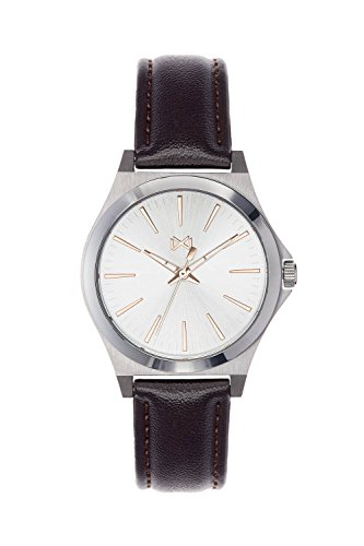 Mark Maddox Women's Analogue Quartz Watch with Leather Strap MC7101-07
