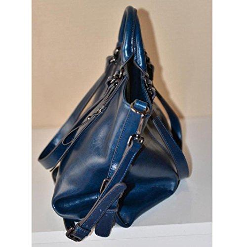 WINWINTOM Bag ,  Mädchen Damen Unisex Erwachsene Tasche blau