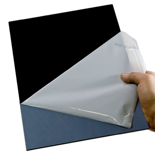 Acryl-Zuschnitt/Plexiglas®-Platte schwarz, 3mm XT, 25 x 25 cm