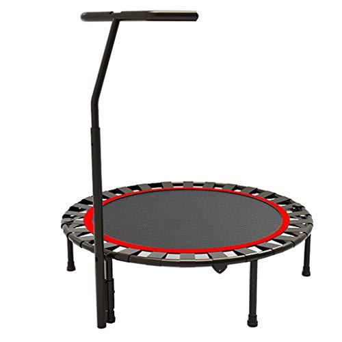 Jumping Trampoline Boden Bungee Sport Trampoline Tragbare & Faltbare Haushalt Erwachsene Bounce Trainingsgeräte mit Sicherheitsgehäuse Sport Gewichtsverlust Gerät Für Den Außen- Und Innenbereich