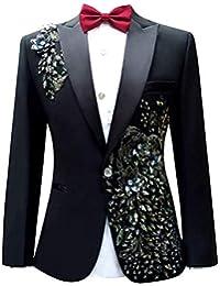 Saoye Fashion Traje De Hombre Chaquetas Tuxedo Prom Party Patrón De La Moda  Ropa De Los 6f09501fe134