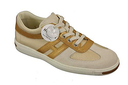 Hogan Damen Schuhe Campus Lace Up Sneakers (34 EU)
