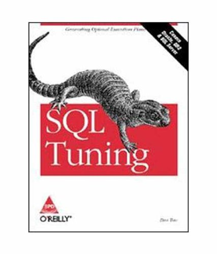 SQL TUNING (COVERS ORACLE,DB2 & SQL SERVER) [Paperback] par TOW