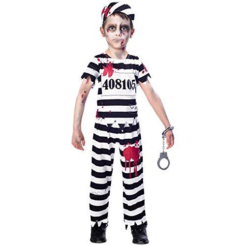 Zombie Insasse Halloween Kostüm Kinder Jungen Amscan