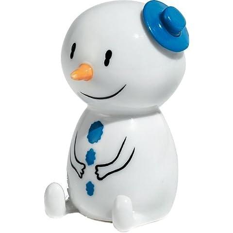 Alessi Navidad figura Muñeco de nieve Hal líquido