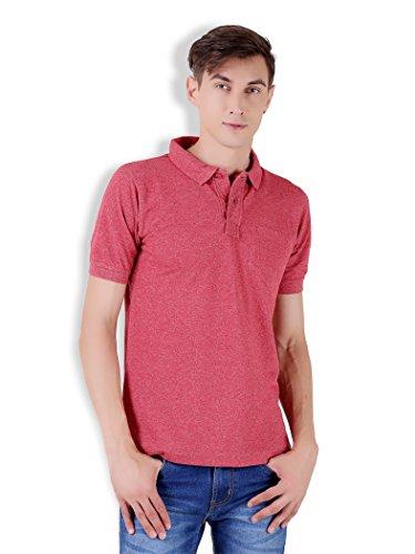 Tapasya Brick Red Polo T-Shirt