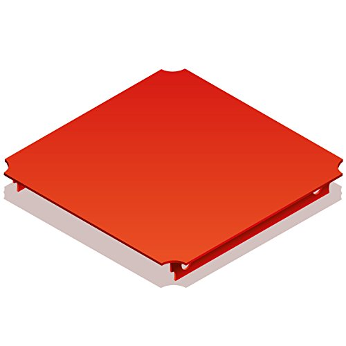QUADRO Platte 40x40 cm rot