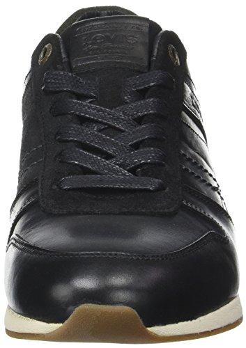Levis Bristol, Baskets Basses Athlétiques Pour Homme (noir Regular Black)