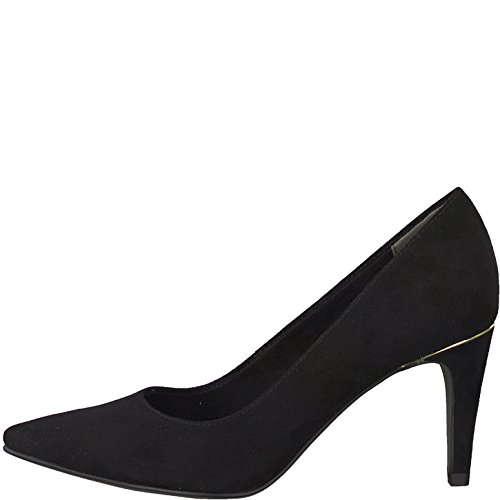 Tamaris Damen Pumps 22457-21,Frauen Pumps,elegant,feminin,festlich,Hochhackige Schuhe,Abendschuhe,Businessschuh,Trachten-Schuh,Trichterabsatz 7.5cm - 2