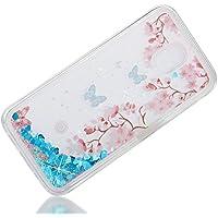Everainy Samsung Galaxy J7 2017 Hülle Silikon Transparent 3D Flüssig Glitzer Wasser Durchsichtig Stoßstange Gummi... preisvergleich bei billige-tabletten.eu