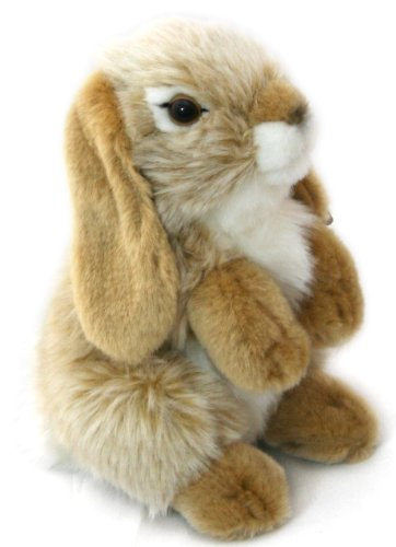 Image of Living Nature Small Sitting Lop Eared Rabbit (Gold)