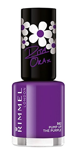 Rimmel London - 60 Seconds Supershine smalto, Alza il viola 8 ml