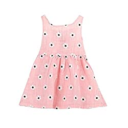 Baby Dress 0-6 Years, Transer® Infant Girls Tutu Dress Baby Clothes born Kids Summer Dot Dress Toddlers Outwear with Bowknot Princess Dresses