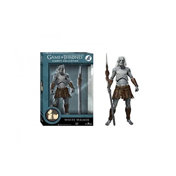 Funko 3911 Game of Thrones Toy - White Walker Deluxe Collectable Action Figure 1
