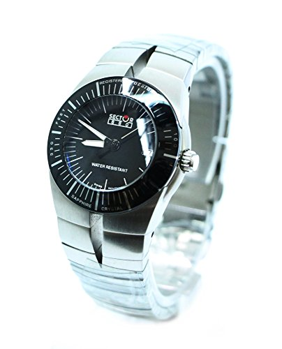 Sector 880 Wristwatch Women Black 100 MT Sapphire Glass listino 410,00 Watch