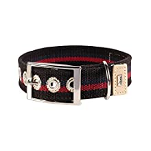 HUNTER HT63007 New Orleans Stripes Collar, One Size