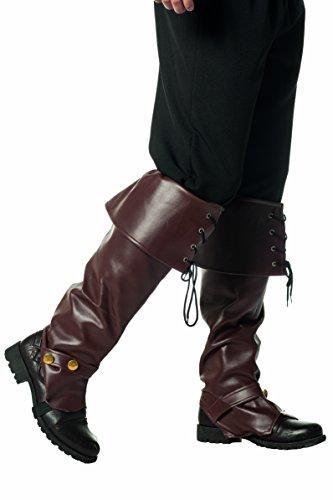 Jannes Deluxe 2100 Stiefelstulpen Luxus Kostüm Verkleidung Fastnacht Party Karneval Fasching