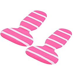 Aeoss Soft Heel Lining Comfort Grips Silicone Insert Heel Lining Comfort Grips High Heels Pads Foot Care Accessories (Set Of 1 Pair) (Pink)