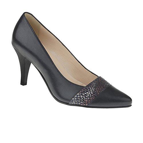 tessamino Damen Pumps aus Echtleder | elegant | Weite G | mit Stiletto-Absatz