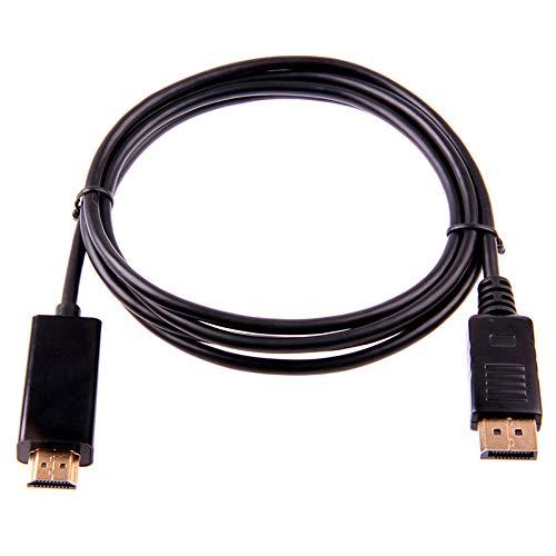 Iycorish 1,8M / 6Ft 10Ft Display Port Display Port Dp Stecker Auf Hdmi-Stecker M/M-Kabel Adapter Für Air Monitor -