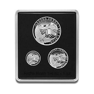 Silbermünze Arche Noah - prägefrisch - einzeln in Münzkapsel verpackt (Set 1/4oz, 1/2oz, 1oz (2019))
