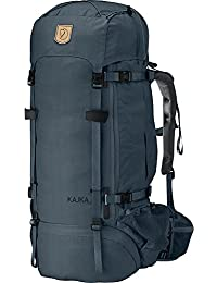 Fjällräven Wanderrucksack Kajka - Macuto de senderismo, color Azul, talla 85L