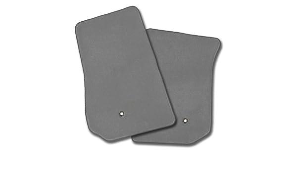 Black Coverking Custom Fit Front Floor Mats for Select Buick Regal Models Nylon Carpet