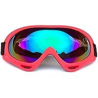 20868d00c3bc5 ERLIANG Lunettes de Sport - Protection Anti-buée et Anti-UV pour Snowboard  pour