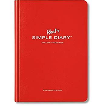 VA-KEEL SIMPLE DIARY I RED