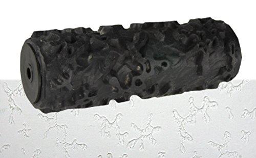 Putz Strukturwalze Kleckse 18cm zum kreativen Strukturieren und Dekorieren von Wand und Decke mit Putz oder Farbe