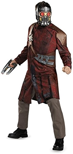 Guardians Of The Galaxy Marvel Deluxe Star-Lord Adult Costume (The Kostüm Starlord Guardians Galaxy Of)