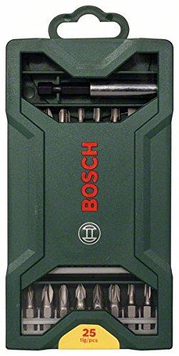 Bosch Mini X-line – Set de 25 unidades para atornillar